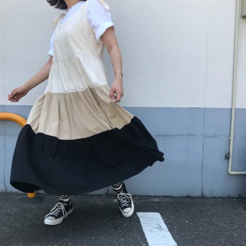 80\'s USmade Cotton Dress _a0182112_13385474.jpg