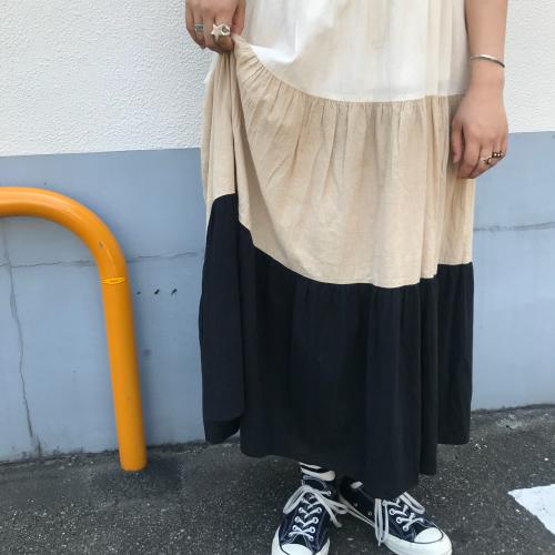 80\'s USmade Cotton Dress _a0182112_13385856.jpg