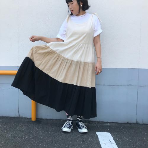 80\'s USmade Cotton Dress _a0182112_13390021.jpg