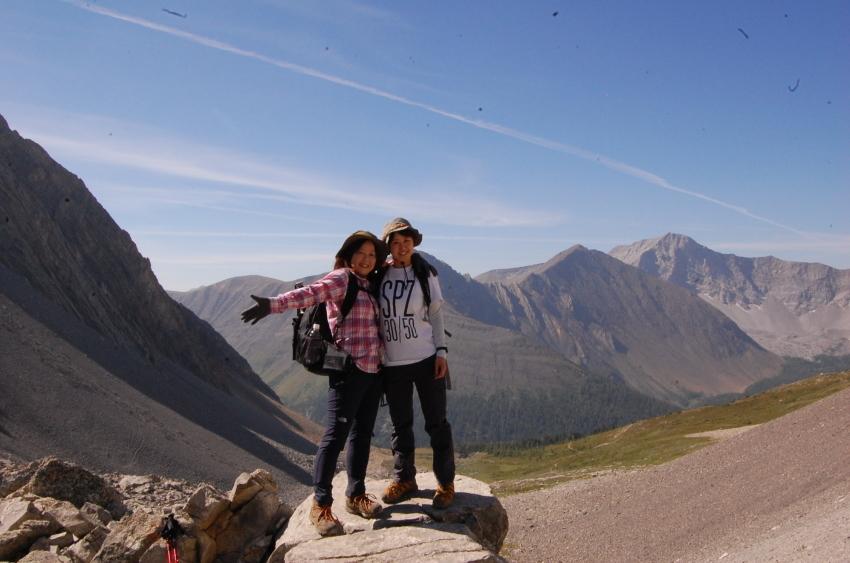 気軽に行ける絶景ハイキング ターミガンサーク_d0112928_11113251.jpg