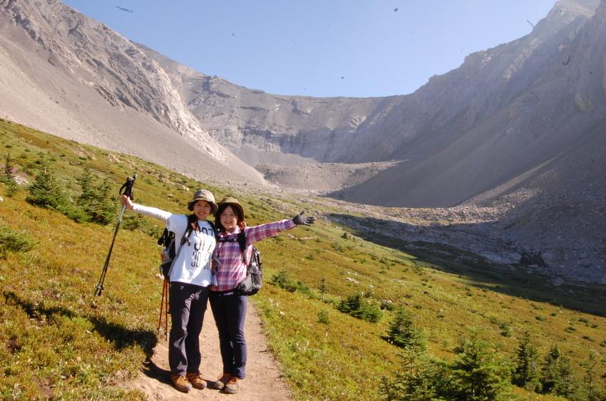 気軽に行ける絶景ハイキング ターミガンサーク_d0112928_11115687.jpg