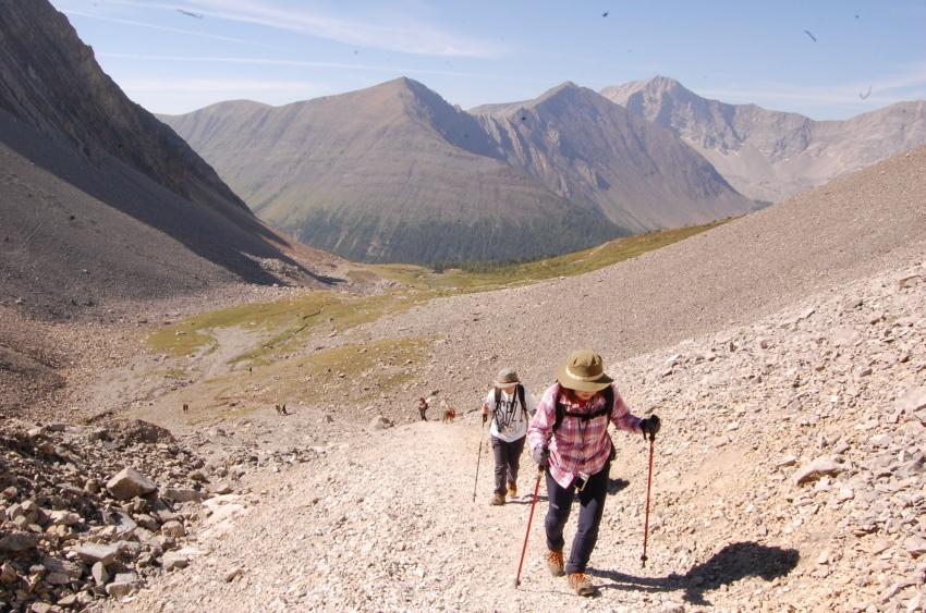 気軽に行ける絶景ハイキング ターミガンサーク_d0112928_11175220.jpg