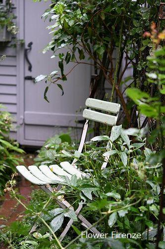 *お盆の庭は・・・*_e0159050_17515795.jpg