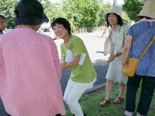 終戦の日 東京・清瀬市で訴える_b0190576_23220113.jpg