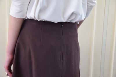 スカートで メリハリ  。_b0110586_14024005.jpg