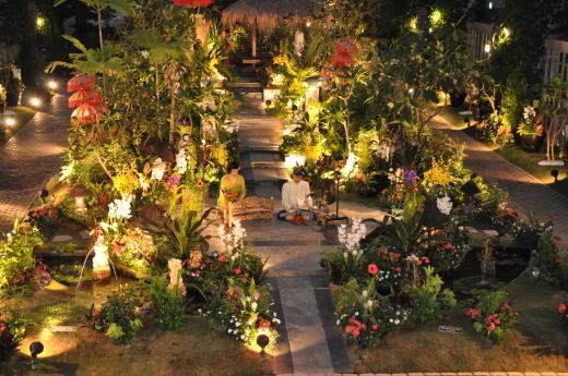 淡路島 奇跡の星の植物館 バリフラワーショー2018 後半のステージ_e0017689_11442114.jpg
