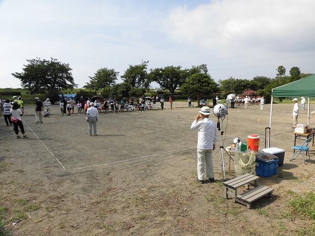 雨が降らず、うだる暑さの中で行われた「第23回 富士市ジュニアゲートボール大会」_f0141310_07340977.jpg