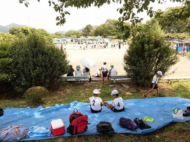 雨が降らず、うだる暑さの中で行われた「第23回 富士市ジュニアゲートボール大会」_f0141310_07345779.jpg