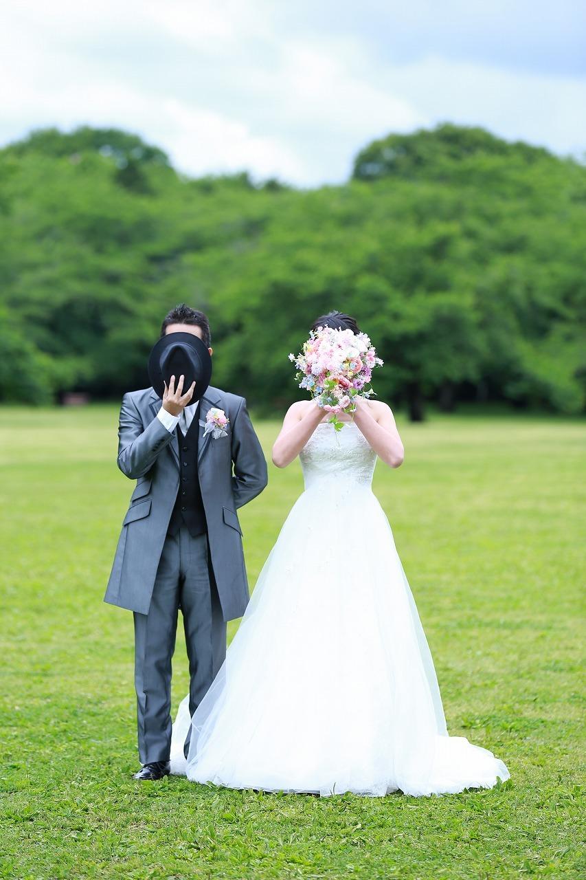 卒花嫁様アルバム 昭和記念公園のロケフォトに シャワーブーケ、プリザーブド&アーティフィシャルフラワーで_a0042928_12324731.jpg