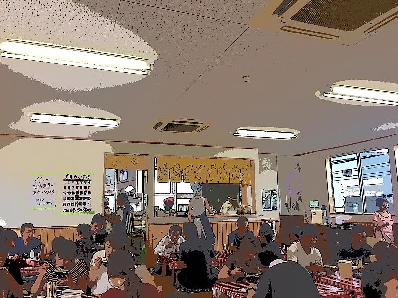 【吉田うどんの行列店】 みうらうどん  ~食べるだけの割り切りも「味」_b0008655_14132362.jpg