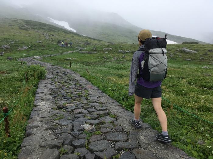 2018.8.11-13 立山周辺でTJARを逆走する旅 day1 室堂-五色ヶ原_b0219778_08300772.jpg