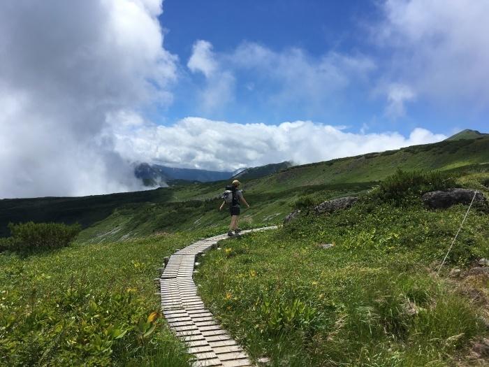 2018.8.11-13 立山周辺でTJARを逆走する旅 day1 室堂-五色ヶ原_b0219778_08332176.jpg