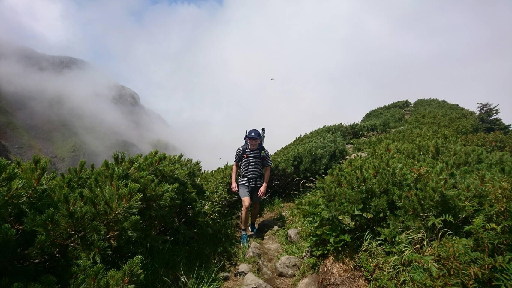 2018.8.11-13 立山周辺でTJARを逆走する旅 day1 室堂-五色ヶ原_b0219778_08583258.jpg
