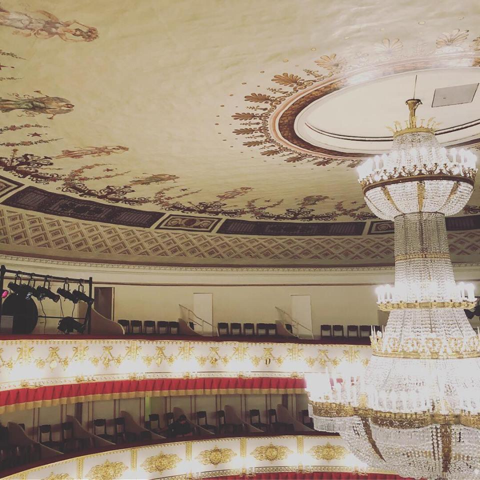 初ロシア*サンクトペテルブルグ旅行vol.4 アレキサンドロスキー劇場_b0195783_16151017.jpg