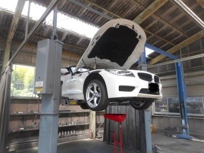 BMW Z4 エンジンオイル交換_c0267693_17213487.jpg