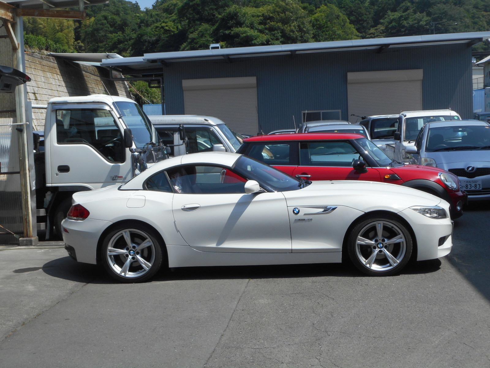 BMW Z4 エンジンオイル交換_c0267693_17215970.jpg