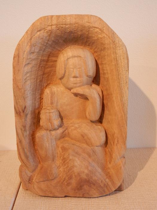 《 手が生み出す 木彫の世界 》  清里の森 彫刻ギャラリーGakou にて_b0221219_11380085.jpg
