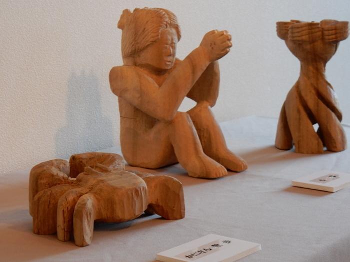 《 手が生み出す 木彫の世界 》  清里の森 彫刻ギャラリーGakou にて_b0221219_11405341.jpg