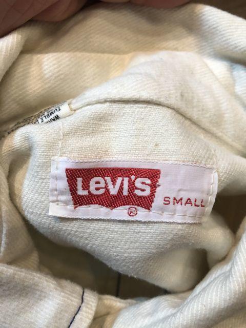 8月18日(土)入荷!70s  LEVI\'S BIG E  ブラッシュドコットン シャツ! _c0144020_13084673.jpg