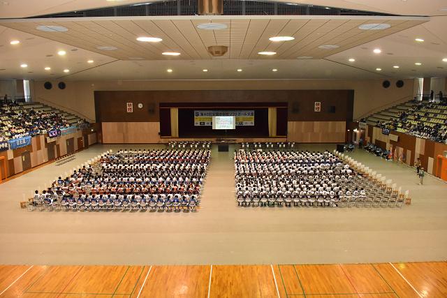 鳥取全中開会式 と砂丘_b0249247_21022396.jpg