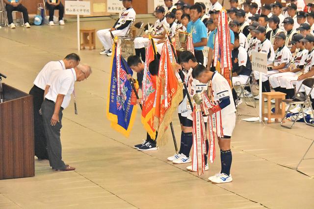鳥取全中開会式 と砂丘_b0249247_21025085.jpg