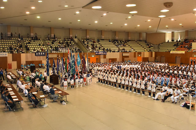 鳥取全中開会式 と砂丘_b0249247_21032702.jpg