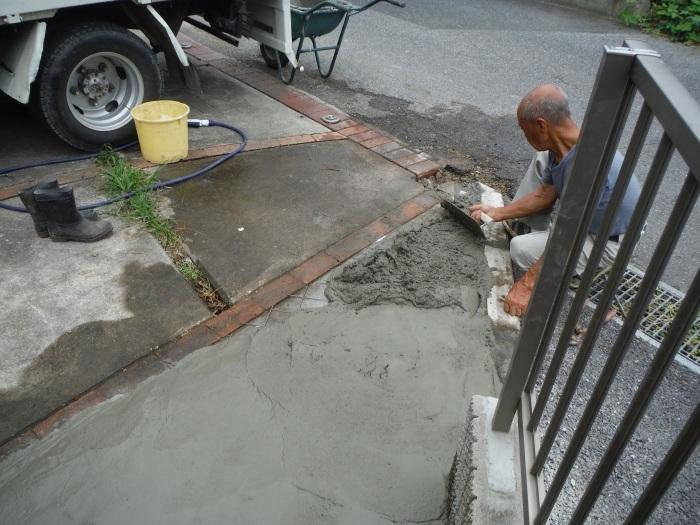 小工事 ~ 駐車場の入口を広げる2。_d0165368_04030900.jpg