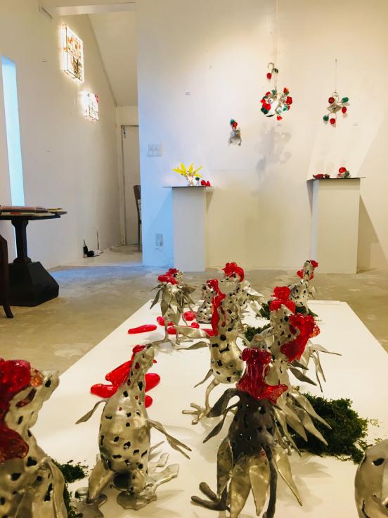 鹿児島 White Galleryでの個展が終了_c0202869_07492860.jpg