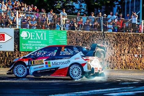 WRC第9戦、錦織2回戦で敗戦、今日から天王山_d0183174_10334601.jpg