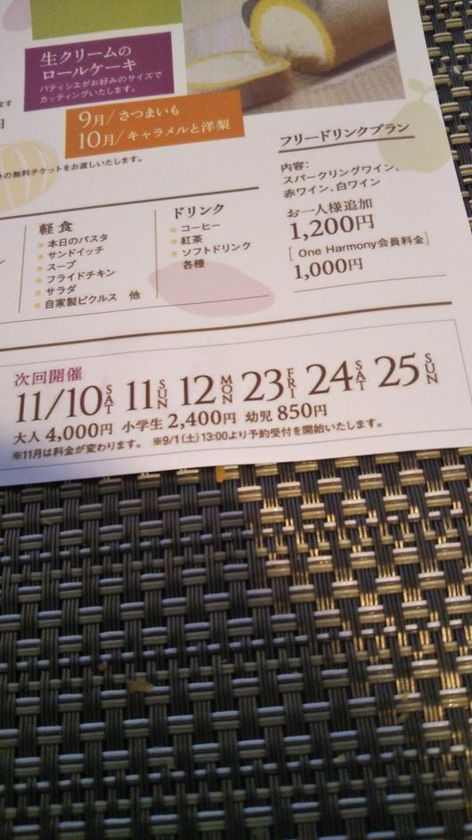 川崎日航ホテル 夜間飛行 トロピカルスイーツブッフェ_f0076001_23135867.jpg
