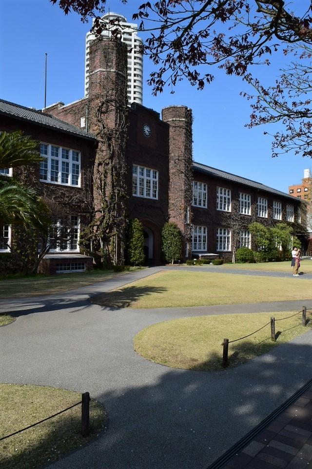 東京立教大学池袋キャンパス(大正モダン建築探訪)_f0142606_10443161.jpg