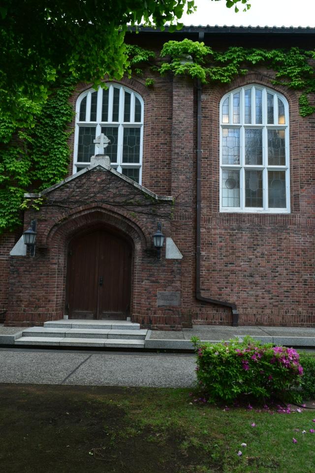 東京立教大学池袋キャンパス(大正モダン建築探訪)_f0142606_11250404.jpg