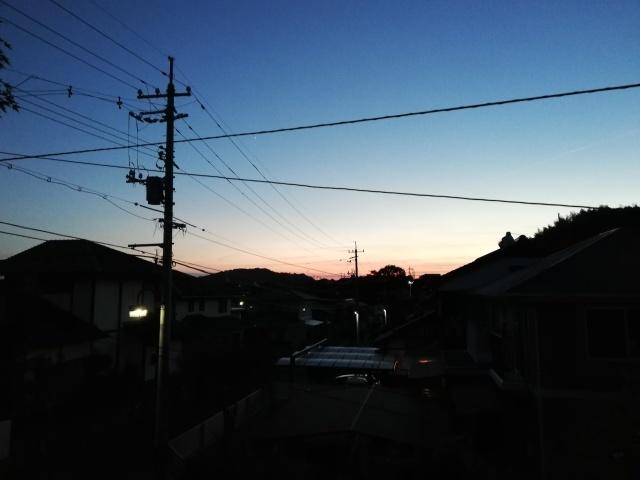 今日の夕焼け。_b0207631_19272199.jpg