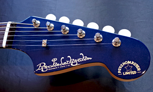 「Cat\'s Eye Blue PearlのPsychomaster」1本目が完成!_e0053731_16122848.jpg