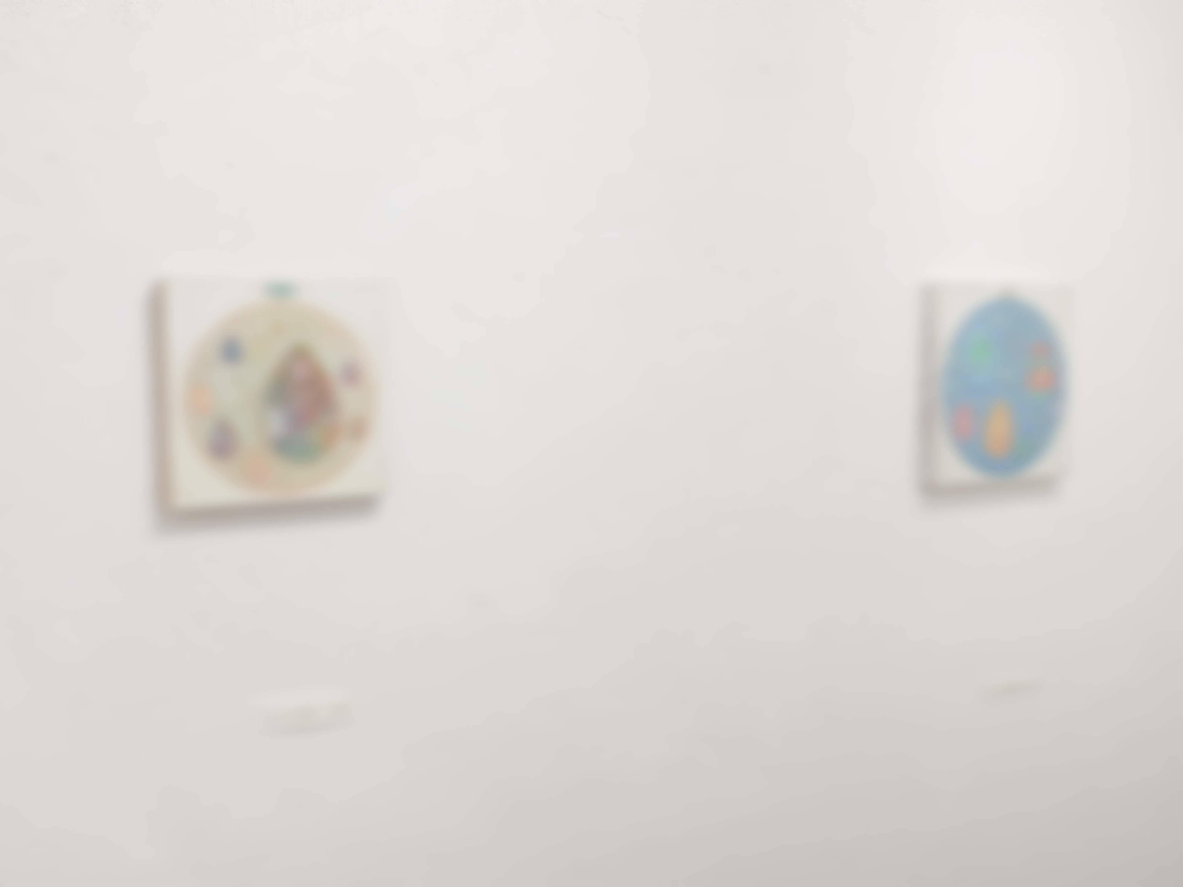 上西 慶子 絵画展 絵水浴 @ 4日目_e0272050_18182573.jpg
