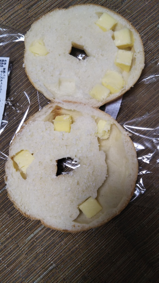 ラブズベーグル チーズ&ペッパー_f0076001_22381918.jpg