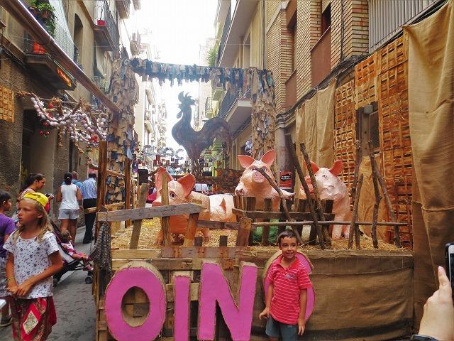 グラシア地区の夏祭り1_b0064411_02503123.jpg