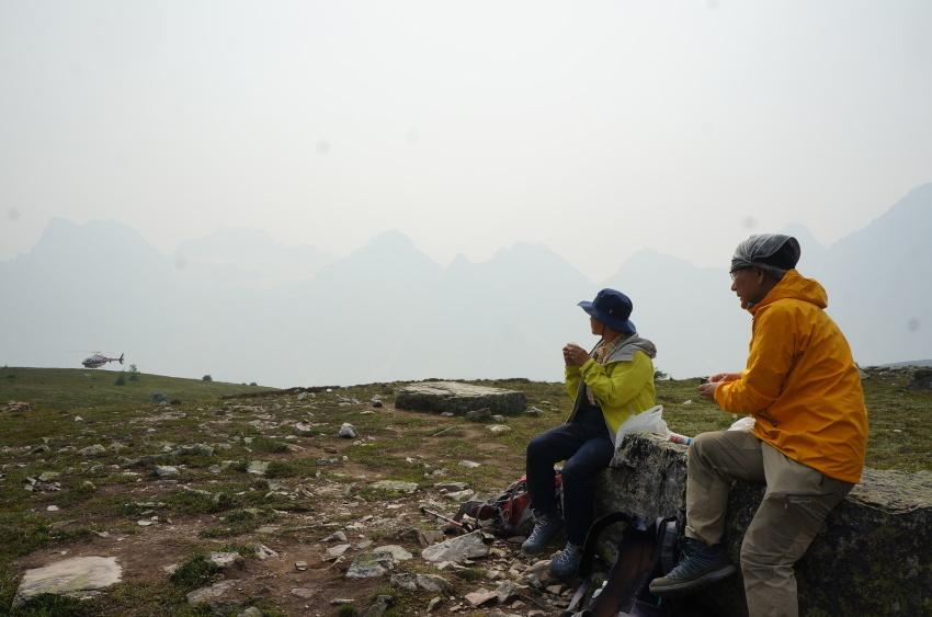 山岳救助の一部始終を見た ラーチバレー_d0112928_03135074.jpg