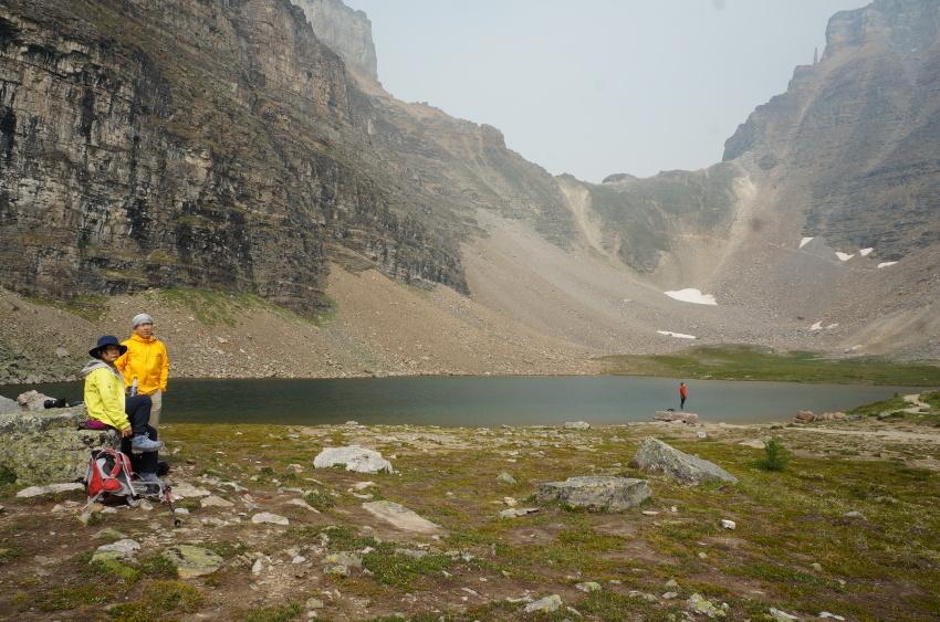 山岳救助の一部始終を見た ラーチバレー_d0112928_03153666.jpg
