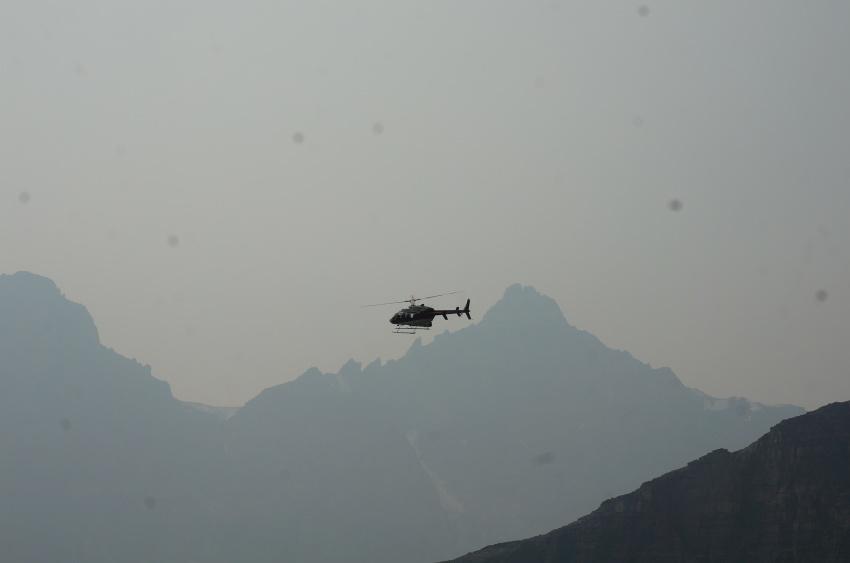 山岳救助の一部始終を見た ラーチバレー_d0112928_03153768.jpg