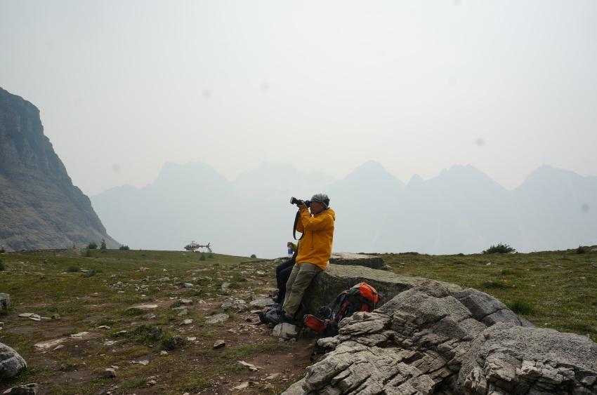 山岳救助の一部始終を見た ラーチバレー_d0112928_03153862.jpg