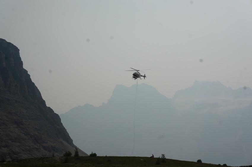 山岳救助の一部始終を見た ラーチバレー_d0112928_03180608.jpg