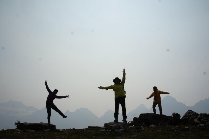 山岳救助の一部始終を見た ラーチバレー_d0112928_03180819.jpg