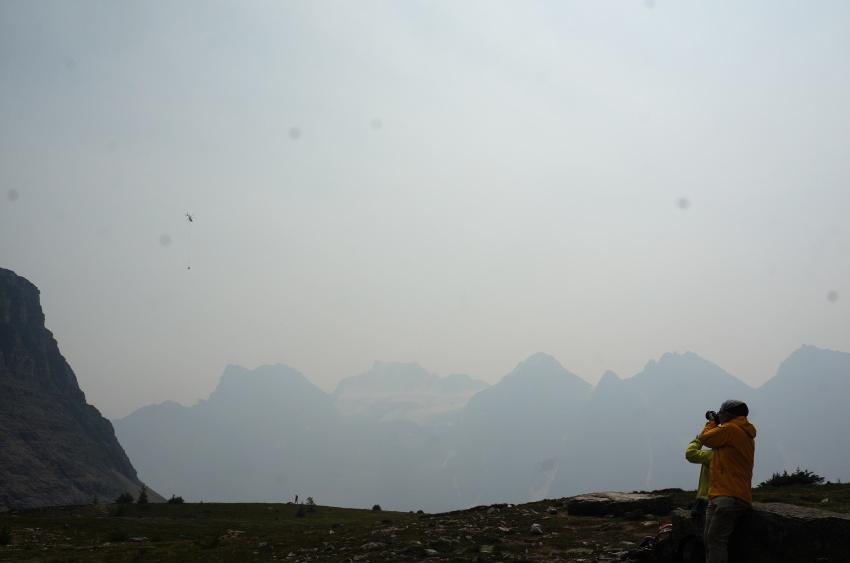 山岳救助の一部始終を見た ラーチバレー_d0112928_03180898.jpg