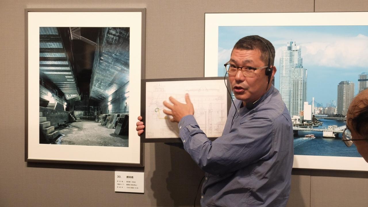 上岡弘和氏写真展「日本の可動橋」富士フイルム フォトサロン東京_f0050534_08004370.jpg