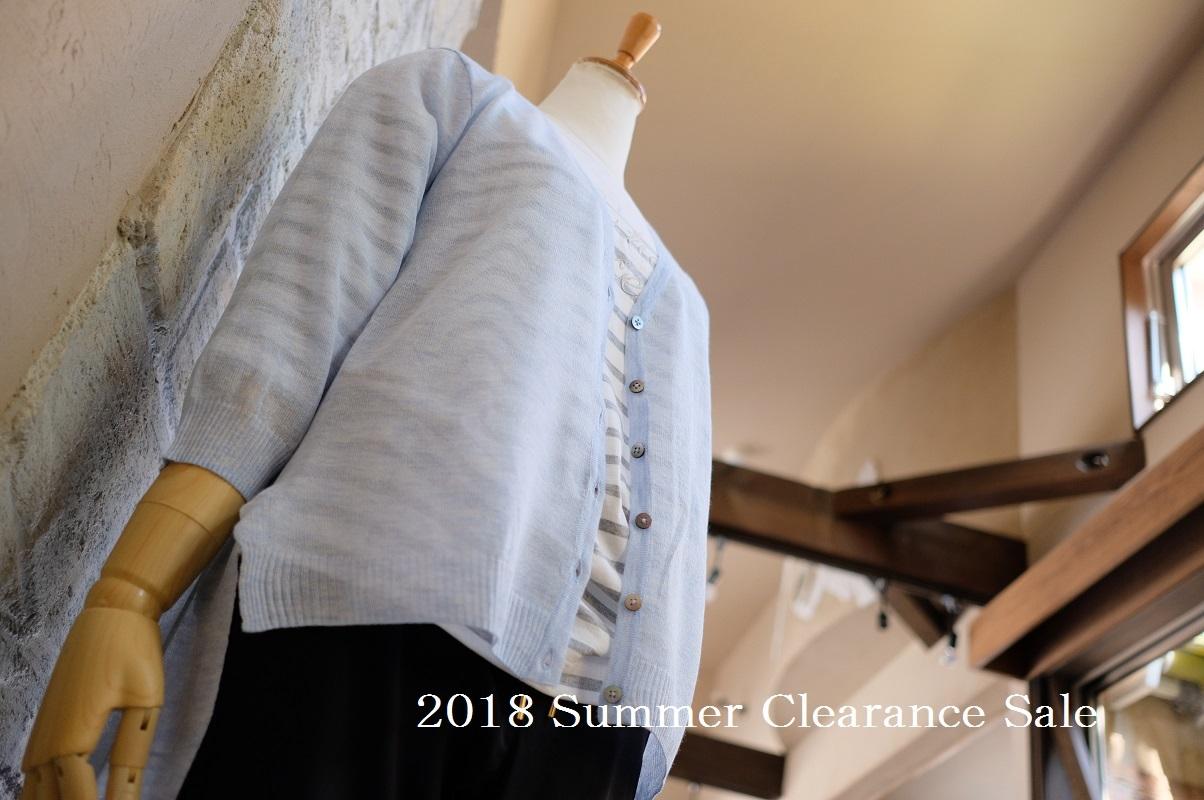 """2018 Summer Clearance Sale開催中!...8/19sun\""_d0153941_15412800.jpg"