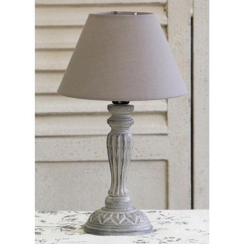 フレンチシャビーでセンスの良いテーブルランプ~❤_f0029571_18140441.jpg
