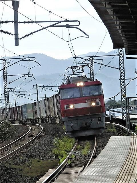 藤田八束の鉄道写真@東北本線の楽しい列車達、奥羽本線のリゾート列車・・・青い森鉄道の貨物列車、モーリー君_d0181492_23021605.jpg