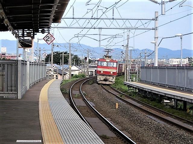 藤田八束の鉄道写真@東北本線の楽しい列車達、奥羽本線のリゾート列車・・・青い森鉄道の貨物列車、モーリー君_d0181492_23030859.jpg