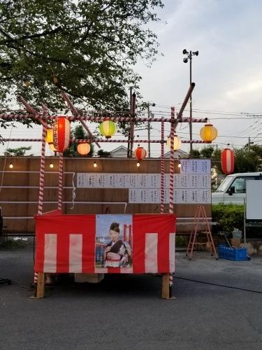 18日八王子台町2丁目納涼祭にて♪_f0165126_12014359.jpg